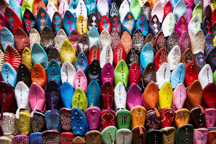 Babouches marocaines