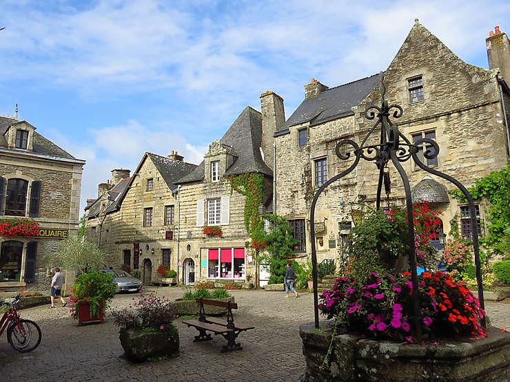 Rochefort-en-Terre, cité de caractère (Morbihan)