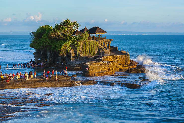 Tanah Lot et Uluwatu : Bali au coucher de soleil