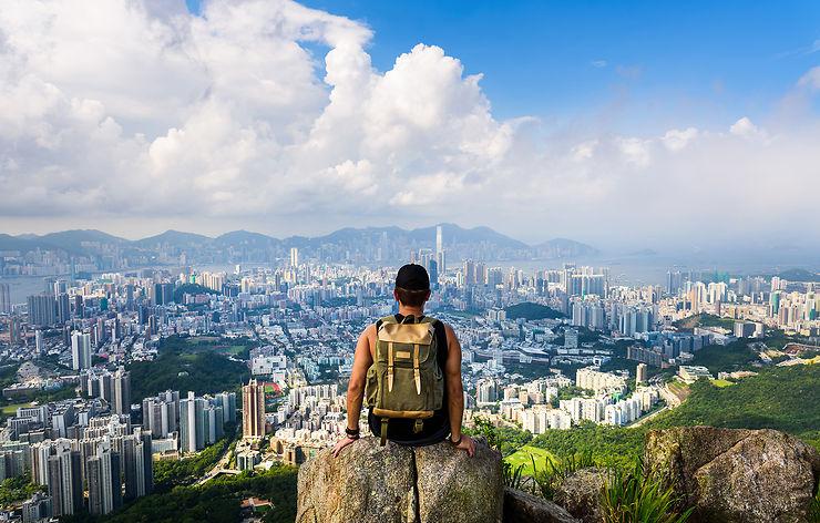 Voyage - Faire de la randonnée et du vélo à Hong Kong