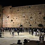 Nuit sur le Mur des Lamentations