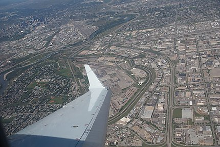 Calgary by the air