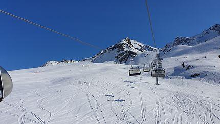 Super Ski à Kühtai - Tyrol - Autriche