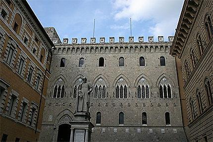 La banque Monte dei Paschi di Siena