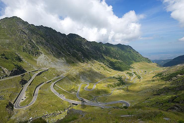 Route Transfagaran (Roumanie)