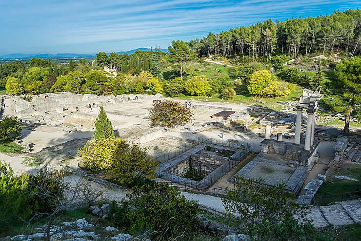 Les Antiques de Glanum (Bouches-du-Rhône)