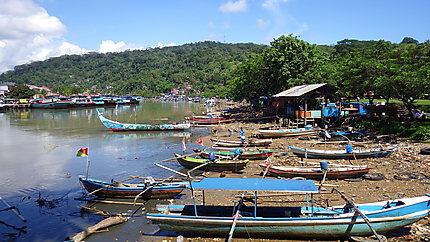 Port de pêche de Padang