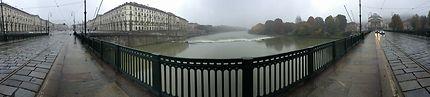 Turin, un temps de Toussaint, un dimanche matin