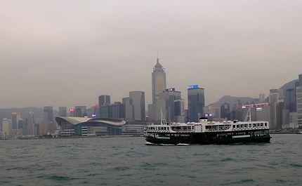 Traversée à Hong Kong Central