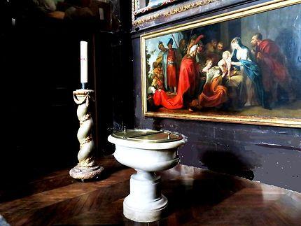 Chapelle baptistère Église Saint-Eustache