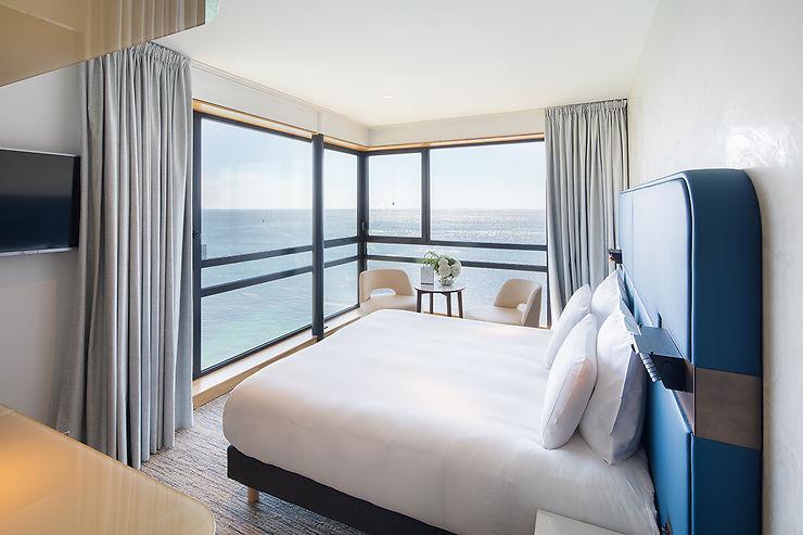 Un hôtel entièrement tourné vers la mer