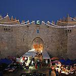 Nuit sur la Porte de Damas