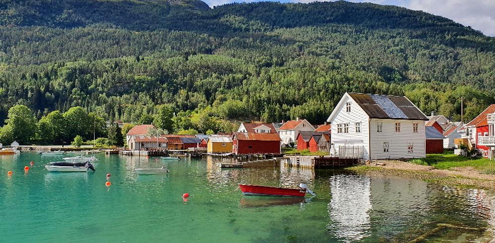 Retour de Norvège en famille