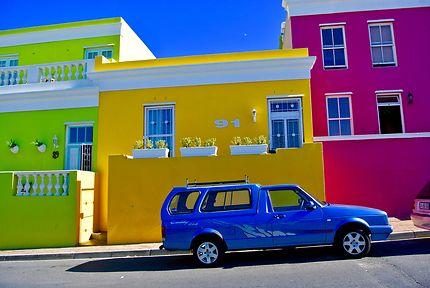 Le quartier Malais, le Bo-Kaap de Cap Town