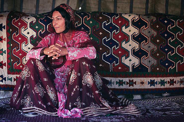 Femme d'une tribu Qashqai, Iran