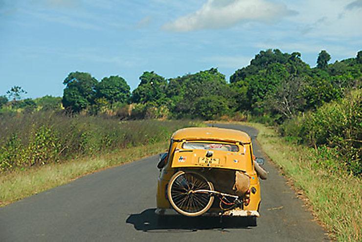 En taxi-brousse