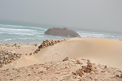 Epave du Cabo Santa Maria à Praia da Atalanta