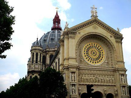 Façade de l'église St Augustin