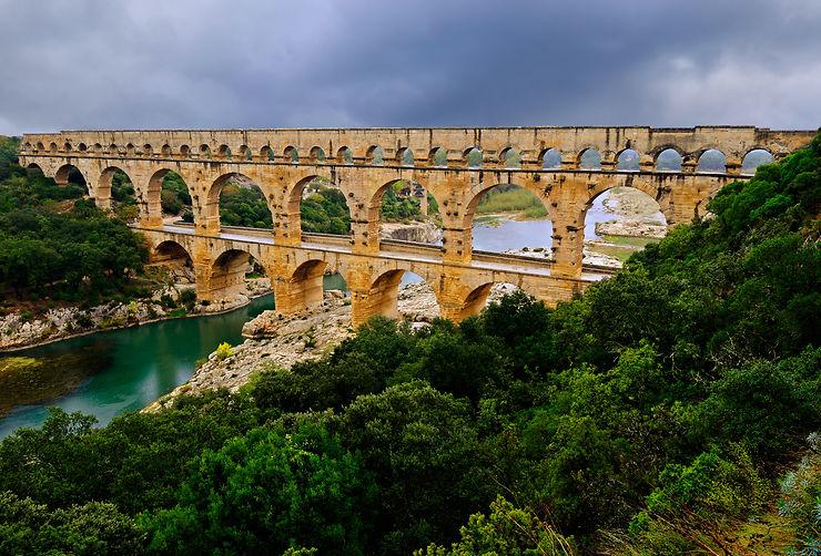 Nîmes et le Pont du Gard (Gard)