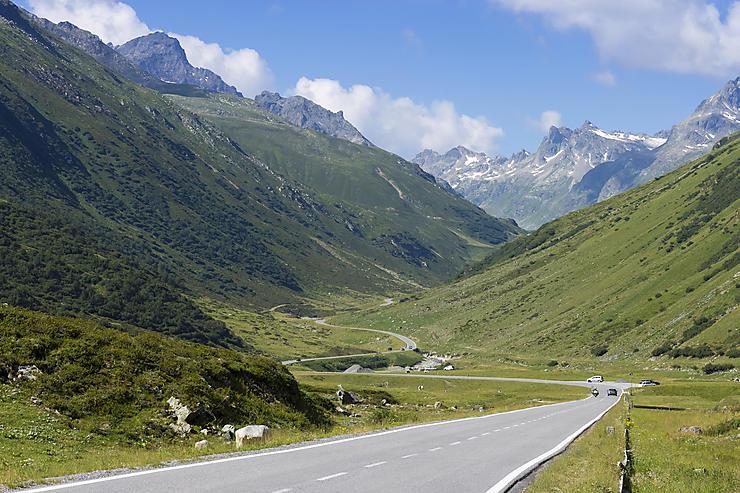 Silvretta Hochalpenstrasse (Autriche)