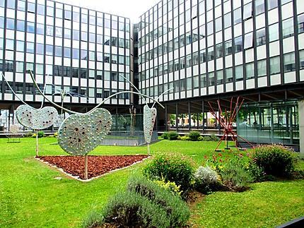 Le jardin de sculptures