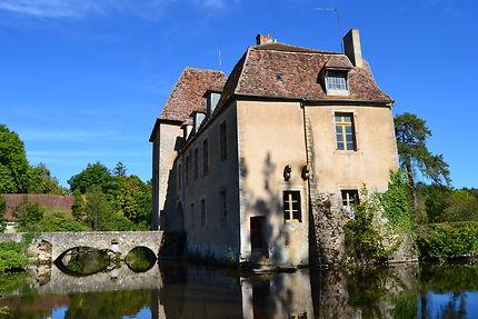 Château de Lantilly dans la Nievre