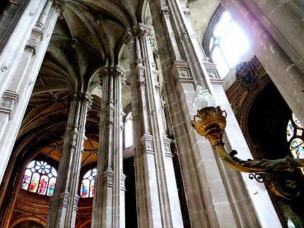 Déambulatoire (voutes) Église Saint-Eustache