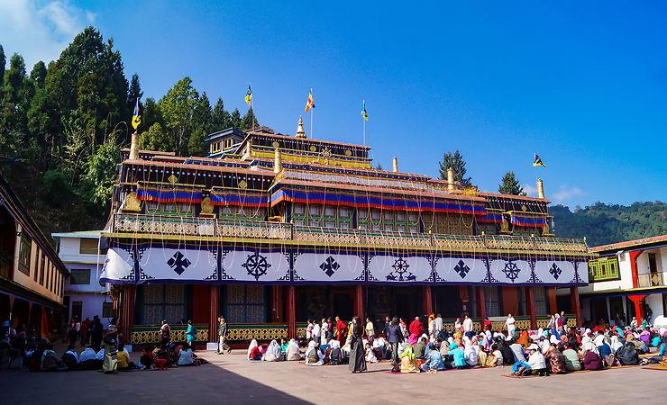 Rumtek, QG du bouddhisme sikkimais