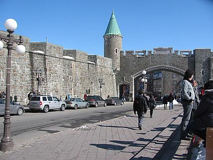 Porte St-Jean à Québec