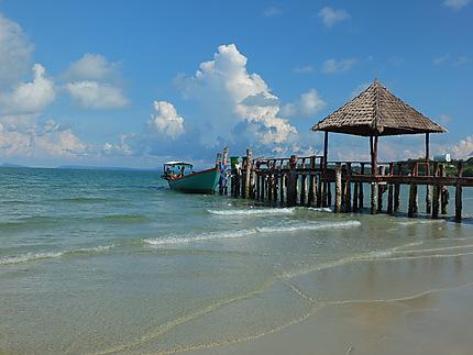 Au bord de la plage