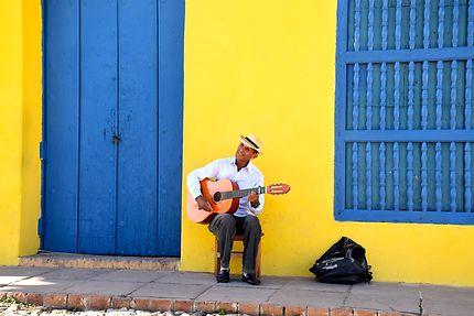 Guitariste à Trinidad