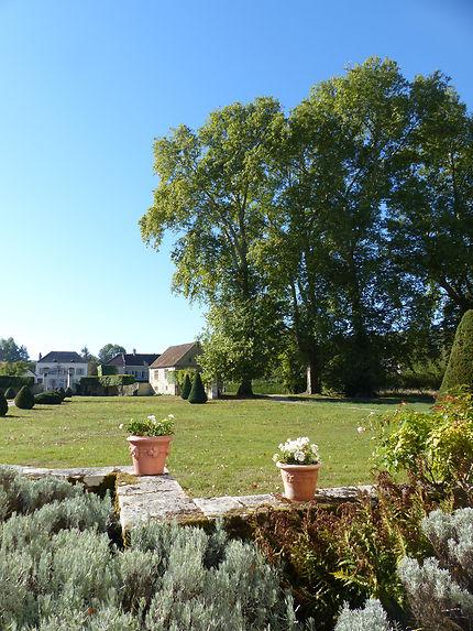 Jardin du Château de Condé en Brie