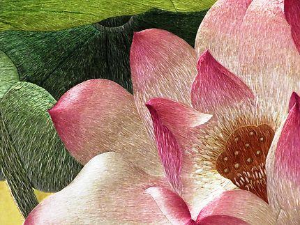Fresque tapisserie (détail)
