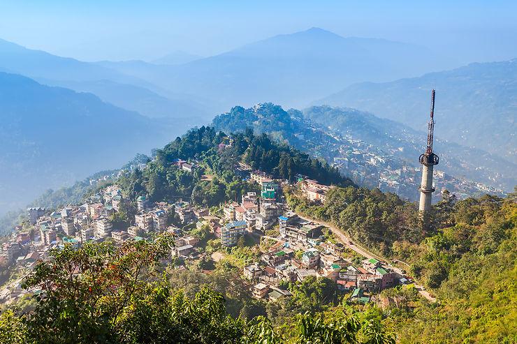 Chasse aux démons à Gangtok