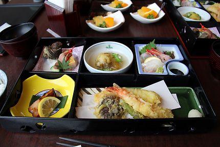 Repas typique à Nagasaki