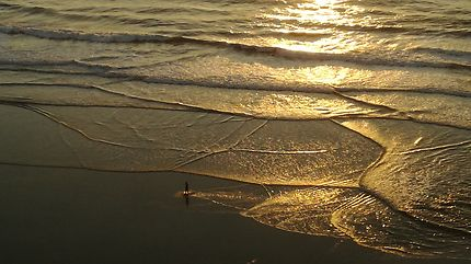 Sur la plage d'Ofir