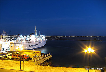 Trapani - port  ferry