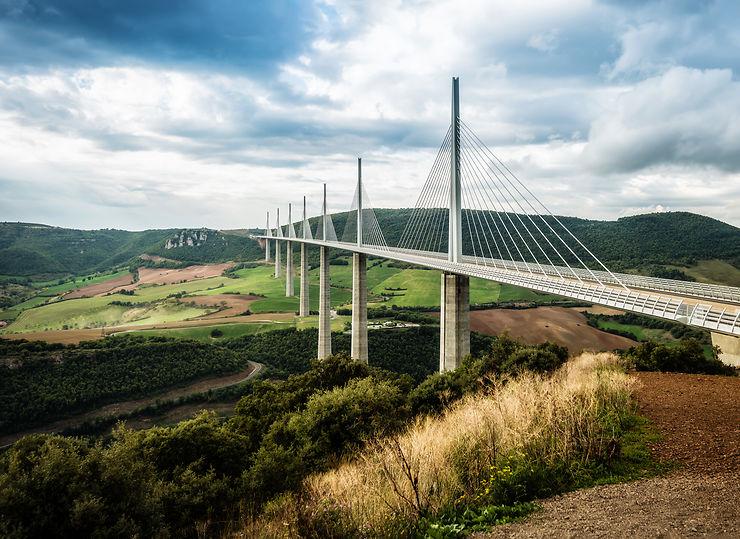 Le viaduc de Millau (Aveyron)