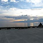 Pêcheurs sur le quai de Ste-Flavie