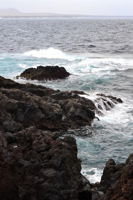 Mer agitée Lanzarote