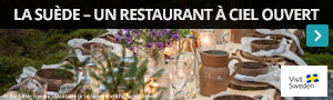 La Suède, un restaurant à ciel ouvert
