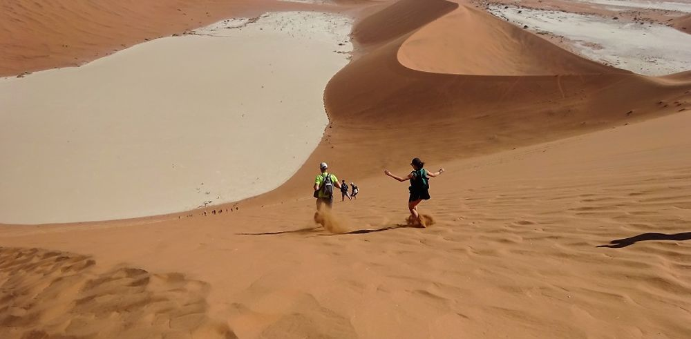 Retour de Namibie