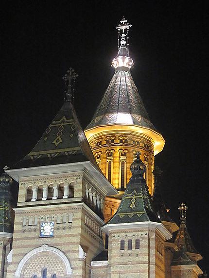 Eglise illuminée
