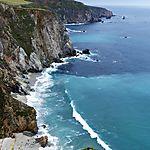 Image de la côte le long de la Highway 1, suite