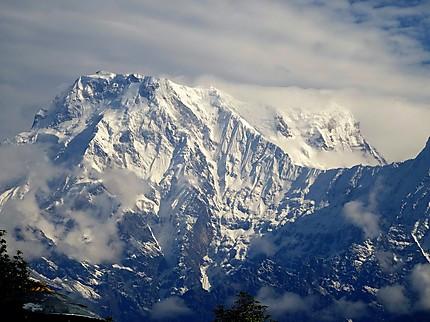 Annapurna vue de Sarangkot