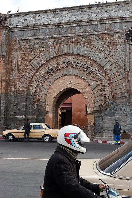 Entrée de la Médina de Marrakech