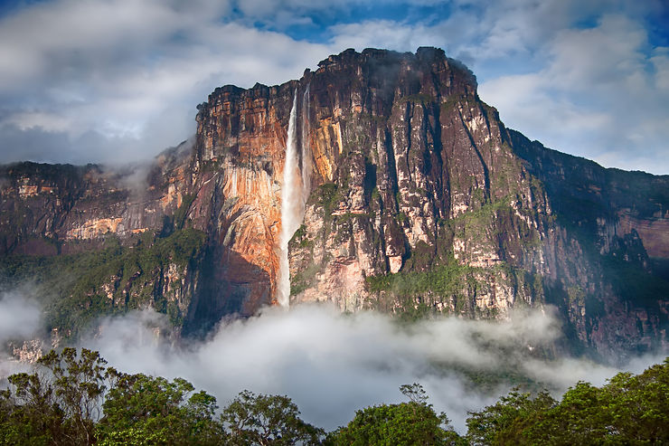 Salto Angel, Canaima