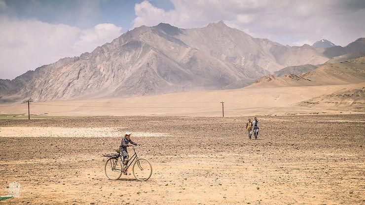 Dans les montagnes de Murghab, Tadjikistan