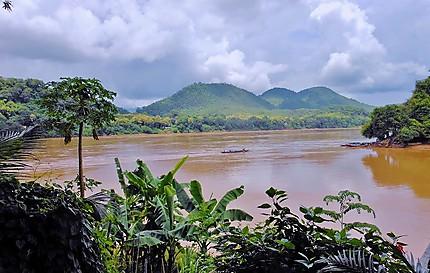 Orage de mousson sur le Mekong