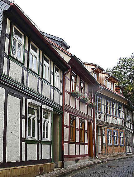 Vieilles maisons à Wernigerode